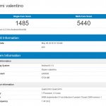 Xiaomi Valentino Passed Through Geekbench With Snapdragon 638 And 6GB RAM