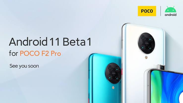 Android 11 for Xiaomi Poco F2 Pro